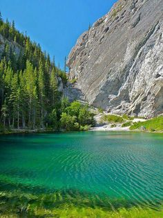 Grassi Lakes - Canmore, Alberta, Canada / I have never seen this, it's a short drive away, maybe this weekend! Dream Vacations, Vacation Spots, Places To Travel, Places To See, Places Around The World, Around The Worlds, Beautiful World, Beautiful Places, Canada Travel