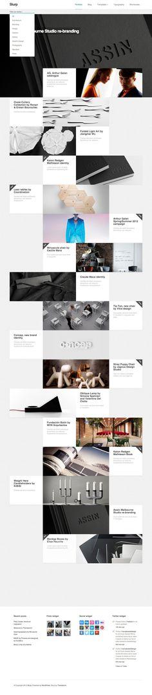 Slurp: Minimalistic and Creative Grid Portfolio. #wordpress #wordpressthemes #wordpresstips