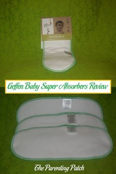 Overwhelmingly positive review of the three-pack of Super Absorbers from Geffen Baby. Geffen Baby Super Absorbers consist of five layers of super absorbent fleece made with 60% hemp and 40% organic cotton. via @ParentingPatch