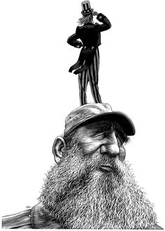Satirical Illustrations by Ricardo Martinez