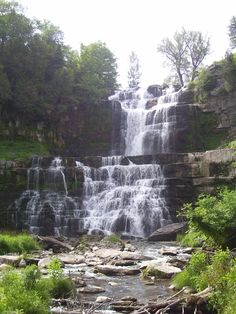 Chittenango Falls, Near Cazenovia NY