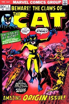 Marvel Comics' The Cat #1. #Cat