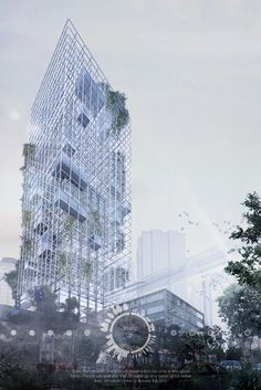 The Banyan Tree Skyscraper Was Designed To Support Humans And Wildlife