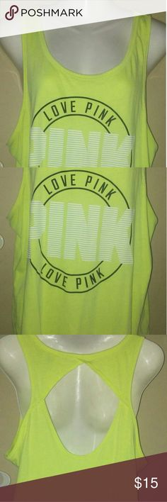 PINK Nation sleeveless shirt Large Pink Nation sleeveless shirt PINK Victoria's Secret Tops