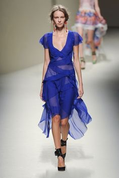 Fashion spring summer 2014 Défilé Alberta Ferretti -  PAP Printemps-Eté Milan 2014