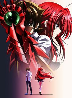 3rd High School DxD Season's Video, April Debut, Visual Unveiled - News - Anime News Network