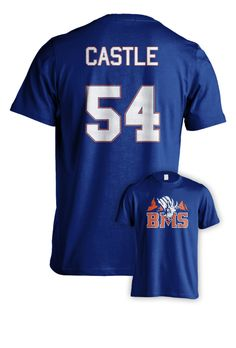 Blue Mountain State: The Movie by Eric Falconer — Kickstarter Thad Castle Jersey Tee