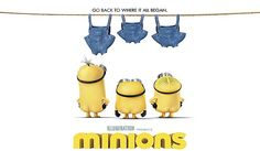 Minions 2015 is a Animated Comedy movie and the third installment of the Despicable Me franchise as a prequel of the former two movies. Minions is directed by Pierre Coffin and Kyle Balda and produced by Illumination Entertainment. New Minions Movie, Despicable Me Funny, Minions Bob, Funny Comedy, Comedy Movies, Minion Wallpaper Iphone, Pierre Coffin, Minion 2015, Illumination Entertainment