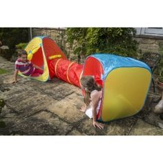 Our adventure play tent is suitable for fun indoors and outdoors. Pop up and easy to keep clean. Shop for playtents on gardengames. Pop Up Tent, Keep It Cleaner, Beach Mat, Outdoor Blanket, Wire Frame, Adventure, Play, It's Easy, Tents