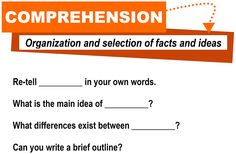 Comprehension  http://www.flickr.com/photos/vblibrary/4576825411/in/set-72157627665009435