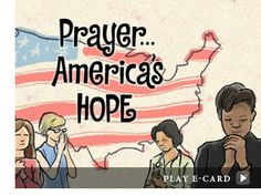 Today, May 3rd is the 61st National Day of Prayer