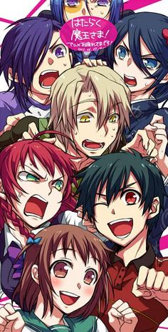 hataraku maou sama_The Devil is a Part Timer I Love Anime, All Anime, Awesome Anime, Me Me Me Anime, Anime Life, Anime Stuff, Manga Anime, Anime Art, Devil Part Timer