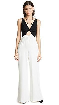 6422c247304b6 Women's Two Tone Jumpsuit Western Outfits, Wide Leg Pants, China Fashion, V  Neck