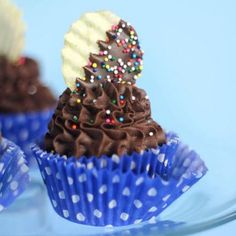 Healthy Deserts: Chocolate Mashed Potato Cupcakes