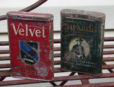 Pair of Vintage Tobacco Tins
