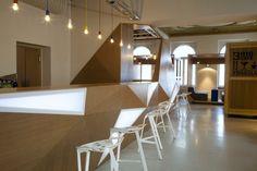 Concept Muzeum Sztuki Café Design by Wunderteam House Design Pictures