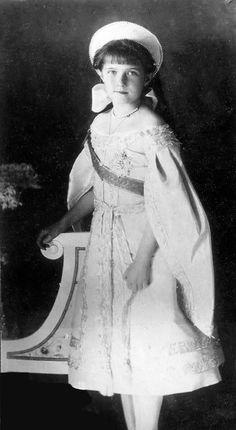 Grand Duchess Anastasia Nikolaievna of Russia- Anastasia was actually an evil little brat. Quiet opposite to what was said in the 20th century fox movie.