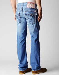 886043e2b2d The Ricky is our slimmed down straight leg jean and is a favorite among men  for