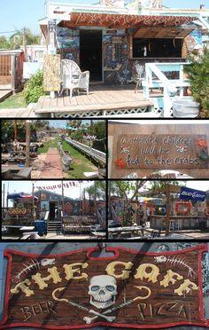 The Gaff Pizza & Bar Port Aransas Texas -  Belt Sanders & Chicken Bingo