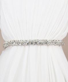 Gari Sash | Kirsten Kuehn || handmade crystal bridal sashes & embellished accessories