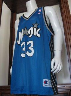 b2daccc21 Details about Vintage Orlando Magic Blue  1 Hardaway Champion Men s 40 NBA  Basketball Jersey