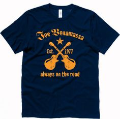 f66e1b986a1 Joe Bonamassa Always on the Road T-Shirt Smokin Joes