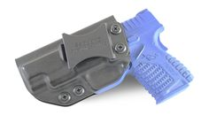 "Springfield XD-S 4.0"" IWB KYDEX Holster Loading that magazine is a pain! Excellent loader available for the Springfield Get your Magazine speedloader today! http://www.amazon.com/shops/raeind"