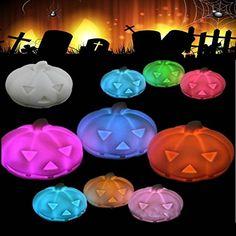SOLMORE Lampe Citrouille Potiron LED Halloween Décoration Ampoule d'Atmosphère pour Fête/Soirée/Bar/Restaurant Multicolore Lumière SOLMORE http://www.amazon.fr/dp/B015J8YE2W/ref=cm_sw_r_pi_dp_.cRgwb1G3Q7BF