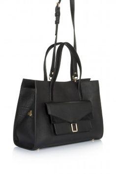 Hitt Bag Anna Tote Bag Siyah Çanta: Lidyana.com