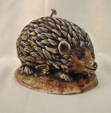Vintage/Retro Hedgehog Candle  by Guernsey Candles  Handmade