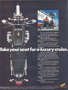 Manufacturer Honda Detail ndash Original Advert middot GL1000KZ Gold Wing Size A4 Colour Colour Year Reference