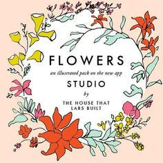 Illustrated flowers: the app