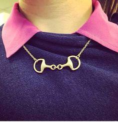 Love horse bit necklaces!