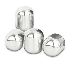 Wine Cellars - VinoVivo Wine Pearls Lets Her Drink A Glass Of Red Or White Without Watering It Down 4 Glass Set *** Check out this great product. Wine Chillers, Wine Cellar, Good Things, Stainless Steel, Ice Cubes, Traditional, Pearls, Canning, Glass
