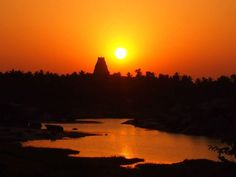 Hampi/Indien Travel Pics, Travel Pictures, Hampi, Celestial, Sunset, World, Outdoor, Heaven, Life