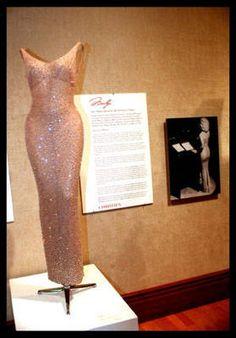 "The iconic Marilyn Monroe ""Happy Birthday, Mr. President"" dress"