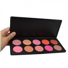 Blush Makeup for women - From salmon through to brick red with numerous shades of pink in between, this is a must have for professional make-up artists or beauty queens who love to experiment with the