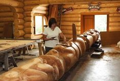 carving a totem......    For more information about totem poles, visit: http://www.totem-pole.net/