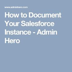 A better study guide for the admin adm 201 exam salesforce a better study guide for the admin adm 201 exam salesforce bullet blog my world pinterest bullet and pdf fandeluxe Choice Image