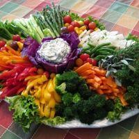 Paleo Vegetable Crudités Platter Recipe - CookEatShare