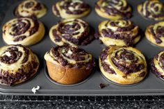 chocolate swirl buns by smitten, via Flickr