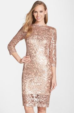 Gold, Taupe, and Neutral Mother of the Bride Dresses | Dress for the Wedding