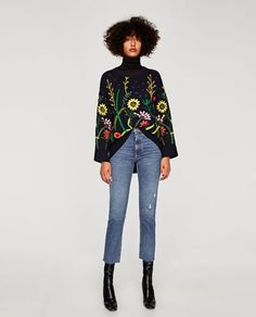 Image 1 of HIGH RISE VINTAGE JEANS from Zara