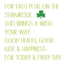 shamrock wish