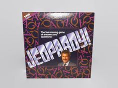Vintage Jeopardy Game, Board Game, Multi Player, Question Answer Game, 1992, Tyco, Trivia, Complete, Unused, Family Game Night by JandDsAtticTreasures on Etsy