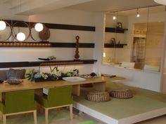 和洋折衷広がり空間 LDから和室まで繋がる広い空間は、和洋折衷の広さを楽しめる空間に。インテリアコーディネート 和室