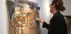 Betty Ritschel creates layered, inspired figural works – Canvas: a magazine by Saatchi Art