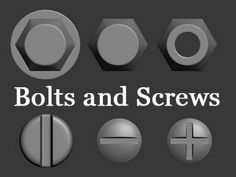 3D Modeling Tutorial #119 - Bolts and Screws (With download) - YouTube