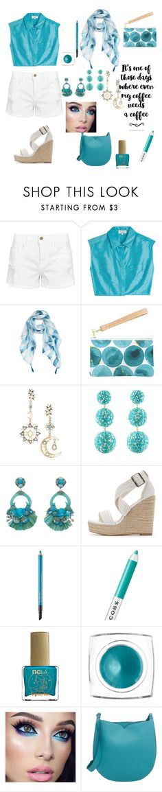 """Cool Summers..."" by indstargazer0804 ❤ liked on Polyvore featuring Frame, Isa Arfen, Nordstrom, Brika, Eye Candy, Rebecca de Ravenel, Ranjana Khan, Charlotte Russe, Estée Lauder and Marc Jacobs"