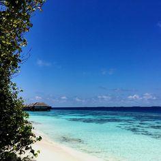 Beautiful day with Blues of Maldives #wanderlust #dusitjourneys #Maldives #beach #travel #dusitjourney